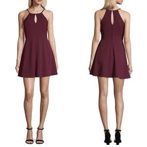 Speechless Out And About Sleeveless Skater Dress